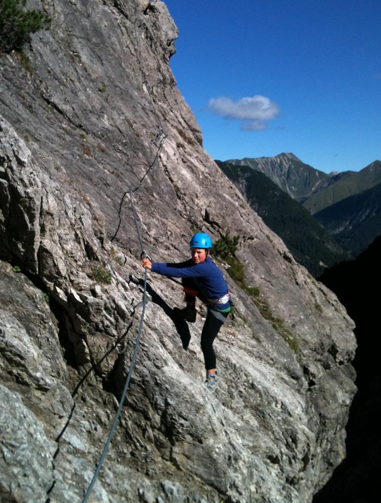 K1024_Klettersteig Passage